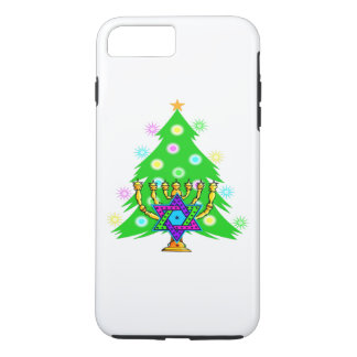 Christmas and Hanukkah iPhone 7 Plus Case