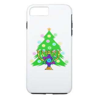 Christmas and Hanukkah iPhone 8 Plus/7 Plus Case