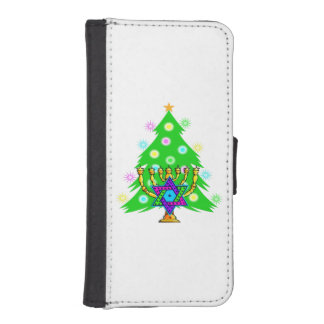 Christmas and Hanukkah iPhone SE/5/5s Wallet Case