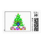 Christmas and Hanukkah Postage<br><div class='desc'>Christmas and Hanukkah holiday gifts and apparel for families who celebrate both holidays features a Christmas Tree,  Jewish Star and Chanukah menorah. Happy Holidays From Bonfire Designs!</div>