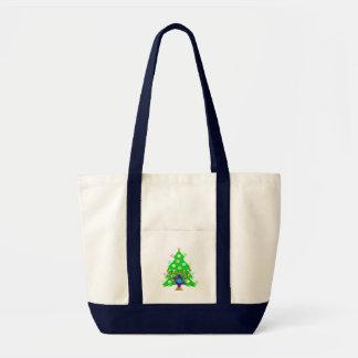 Christmas and Hanukkah Together Tote Bag