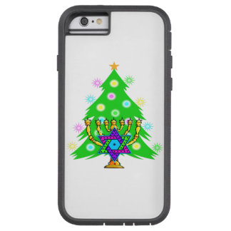 Christmas and Hanukkah Tough Xtreme iPhone 6 Case