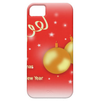 Christmas And New Year iPhone SE/5/5s Case