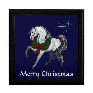 Christmas Andalusian Horse Gift Box