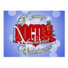 CHRISTMAS ANESTHESIOLOGIST POSTCARD