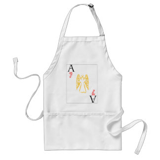 Christmas Angel - Ace of Candy Canes Aprons