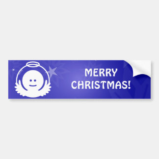 Christmas Angel Avatar Bumper Stickers