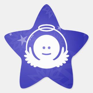 Christmas Angel Avatar Star Sticker