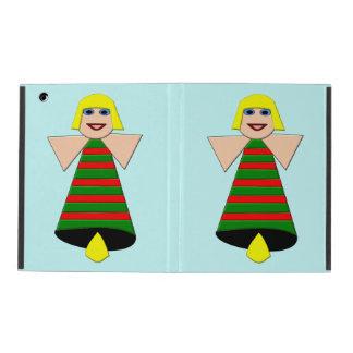Christmas Angel Bell iPad Case