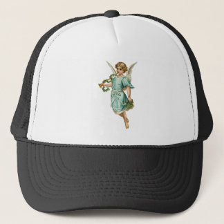 Christmas Angel Bringing Tidings of Great Joy Trucker Hat