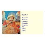 CHRISTMAS ANGEL BUSINESS CARD TEMPLATES