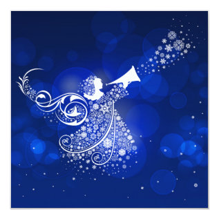 Christmas Angel Card at Zazzle