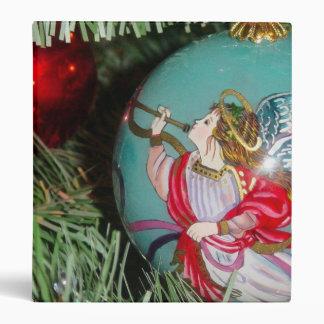 Christmas angel - christmas art -angel decorations binder