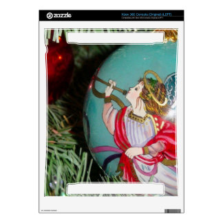Christmas angel - christmas art -angel decorations decal for the xbox 360