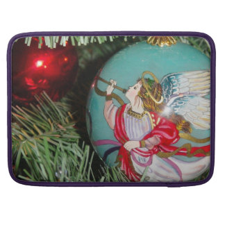 Christmas angel - christmas art -angel decorations MacBook pro sleeve