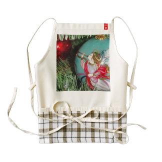Christmas angel - christmas art -angel decorations zazzle HEART apron