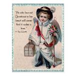 Christmas Angel Heart Post Cards