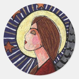 Christmas Angel - holiday xmas stickers