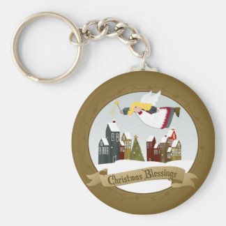 Christmas Angel Key chain
