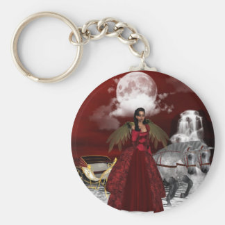 Christmas Angel Keychain