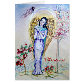 Christmas Angel Love Stationery Note Card