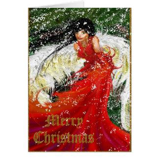 Christmas angel - Merry Christmas Card