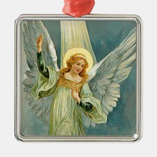 Christmas Angel Metal Ornament