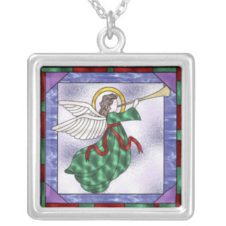 Christmas Angel Necklace