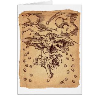 Christmas Angel of Death Card