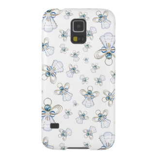 Christmas Angel of Faith Holiday Collage  Pattern Galaxy S5 Covers