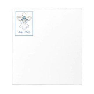 Christmas Angel of Faith Notepad
