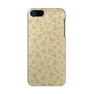 Christmas Angel of Joy Holiday Collage Pattern Metallic Phone Case For iPhone SE/5/5s