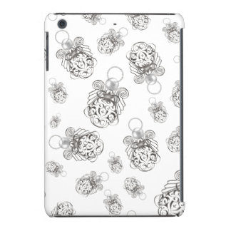 Christmas Angel of Peace Holiday Collage Pattern iPad Mini Covers