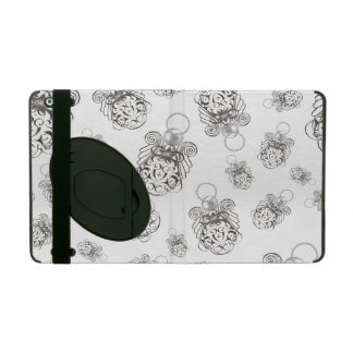Christmas Angel of Peace Holiday Collage Pattern iPad Case