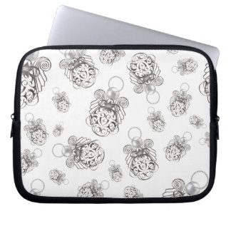 Christmas Angel of Peace Holiday Collage Pattern Laptop Sleeve