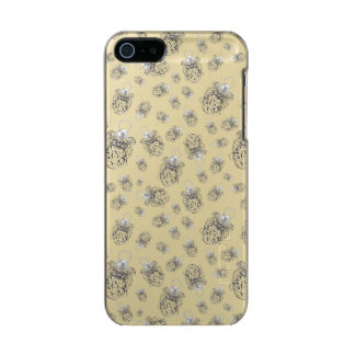 Christmas Angel of Peace Holiday Collage Pattern Metallic iPhone SE/5/5s Case