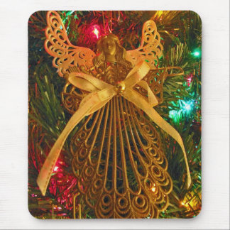 Christmas Angel of Peace Ornament Mouse Pad