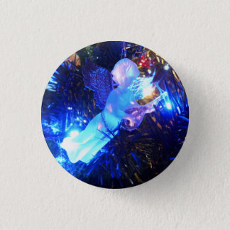 Christmas Angel Pinback Button