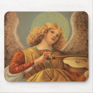 Christmas Angel Playing Violin Melozzo da Forli Mouse Pad