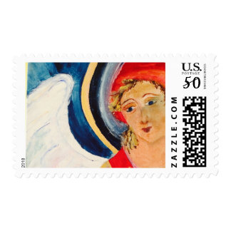 Christmas Angel Postage Stamps