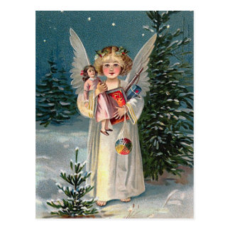 """Christmas Angel"" Postcard"
