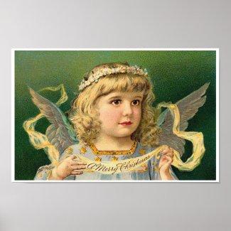Christmas Angel print
