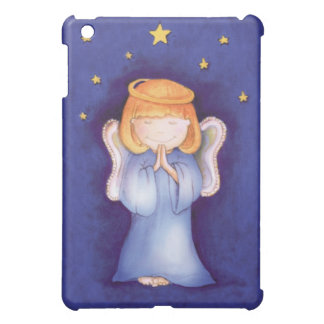 Christmas angel prayer blue ipad mini case