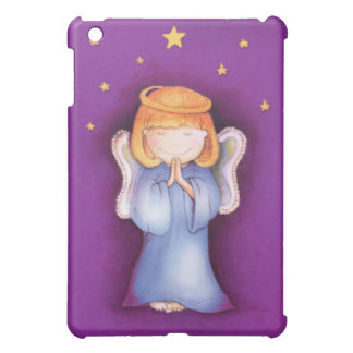 Christmas angel prayer purple case for the iPad mini