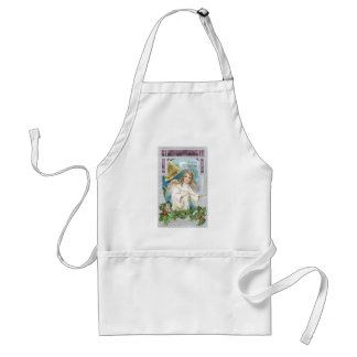 Christmas Angel ringing a bell Apron