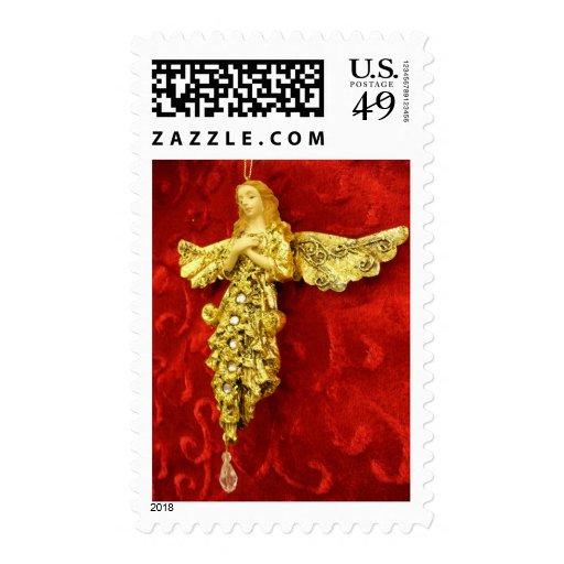 Christmas Angel Stamp