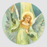 Christmas Angel Sticker