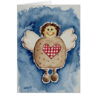 christmas angel tarjeta de felicitación