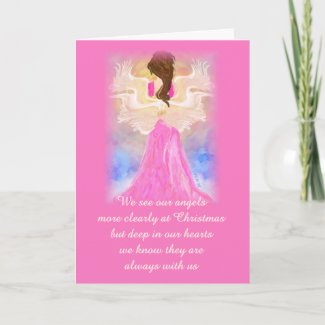Christmas Angel Thank You Cards card