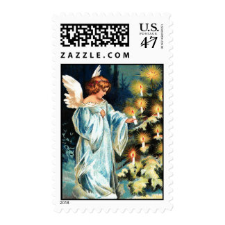 Christmas Angel U.S Postage Postal Stamp